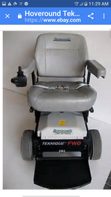 Hoveround heavy duty power chair technique new batteries comes with charger charged and ready to go in Fort Benning, Georgia