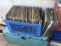 Assorted Vinyl Records in Yucca Valley, California