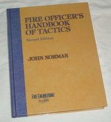 RARE Vintage 1998 Fire Officer's Handbook of Tactics 451 Page Hard Cover Coffee Table Book by Jo... in Morris, Illinois