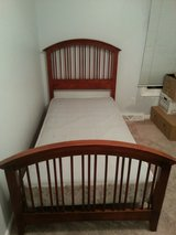 twin bed - wood frame only in St. Charles, Illinois