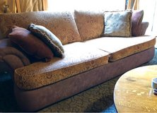 """super comfy couch 95"""" x 44"""" in Naperville, Illinois"""