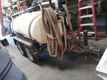 Water buffalo 500 gallon trailer has surge brakes built in in 29 Palms, California