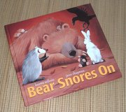 Vintage 2005 Bear Snores On Hard Cover Book Age Range 2 - 5 in Chicago, Illinois