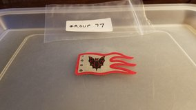 Lego Cloth Flag Wave Fright Knights Bat Group 77 in Naperville, Illinois