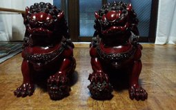 Large Shisa Dogs (11inches) in Okinawa, Japan