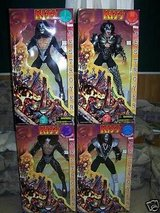 KISS  collectible dolls ,,ALL 4—1998 tour in Alamogordo, New Mexico