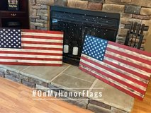 Rustic American Wood Flag in Clarksville, Tennessee