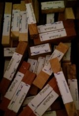 Woodcrafter's Exotic Wood (40+ Pcs) N23 in Houston, Texas