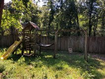 Free to a good home....  Large kids swingset in Spring, Texas