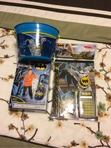 Batman gifts with bucket in Spring, Texas