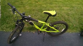 "Kids bike 20""  (green, also available in blue) in Bolingbrook, Illinois"