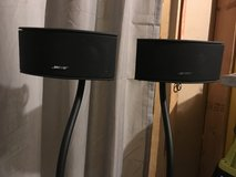 Bose speakers/stand in Westmont, Illinois