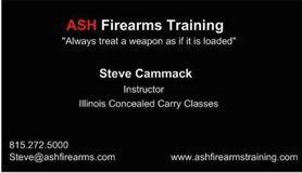 concealed carry class for Illinois in Bolingbrook, Illinois
