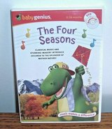 SEALED Baby Genius The Four Seasons CD DVD Classical Music Mother Nature 0-36mon in Morris, Illinois