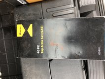 Hiltex tool and die sets brand new still in plastic metric and standard in Elgin, Illinois