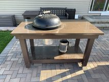 Custom Weber Grill Table in Chicago, Illinois