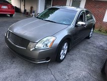 2005/Nissan Maxima Runs and drives in Clarksville, Tennessee