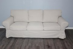 Ikea EKTORP Sofa With removable cover in Spring, Texas