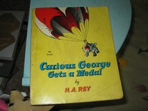 """Curious George Book -""""Gets a Medal"""" in Wilmington, North Carolina"""