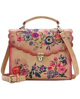 ***PATRICIA NASH***Prairie Rose Embroidery Simona Satchel*** in Cleveland, Texas