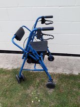 Adjustable Adult  Walker with Seat in Lakenheath, UK