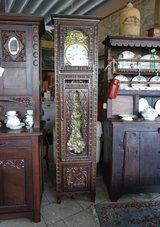 beautiful Breton grandfather clock with Comtoise works in Spangdahlem, Germany