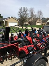 Lots of misc. John Deere tractors zeroturn trimmers edgers snow blower etc in Naperville, Illinois
