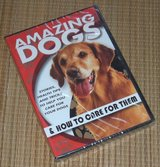NEW Amazing Dogs DVD & How To Care for Them Stories Health Tips & Tricks in Yorkville, Illinois