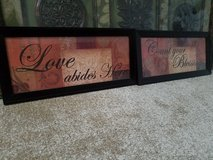 Set of Wall Picture Frame Decor in Baytown, Texas