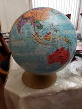 World Globe in Lockport, Illinois