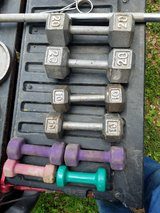 dumbell set in Fort Leonard Wood, Missouri