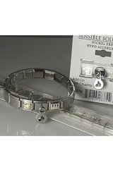Italian Link Bracelets with your choice of charms in Yucca Valley, California