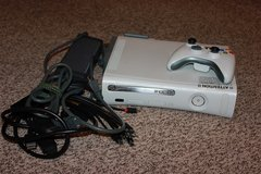 Xbox 360 with games in Fort Knox, Kentucky