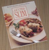 Vintage 1990 Better Homes & Gardens Diet Book Eat and Stay Slim Hard Cover Book in Joliet, Illinois