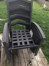 Patio chairs 6 - $25 each or 6 at BO in Naperville, Illinois