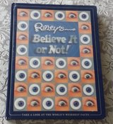 Ripley's Believe It or Not 2004 Holographic Hard Cover Book The Worlds Weirdest Facts in Joliet, Illinois