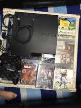 Ps3 with 2 controllers and 5 games in Okinawa, Japan