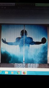 football player curtain in Alamogordo, New Mexico