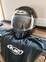 HJC Motorcycle Full-Face Helmet--like new in DeKalb, Illinois