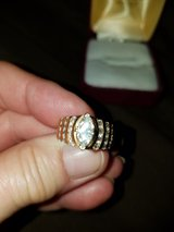 14 kt yellow gold engagement ring in Lockport, Illinois