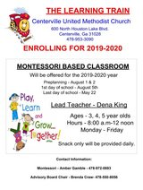 Montessori style program in WR in Byron, Georgia