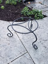 Wrought Iron Plant Stand in Glendale Heights, Illinois
