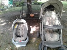 Stroller and carseat in Oswego, Illinois