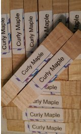 All Curly Maple Pen Blanks (40Pcs+) SET 23 REDUCED PRICE in Houston, Texas