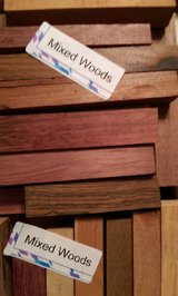 Woodcrafter's Exotic Wood (100+Pcs) N12 in Houston, Texas