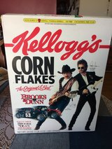 Brooks & Dunn cereal box in Orland Park, Illinois