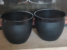 2 large planters-new in Lockport, Illinois