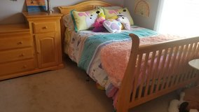 3 in 1 bed and dresser in Fort Campbell, Kentucky
