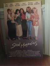 poster from movie.    STEEL MAGNOLIAS in Macon, Georgia
