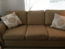 Bassett sofa and chair 2 end tables.   MOVING SALE in Fort Lewis, Washington